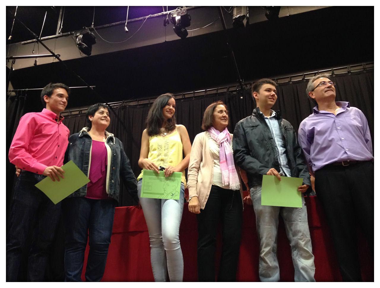 Entrega de Diplomas 2014 en Quinto